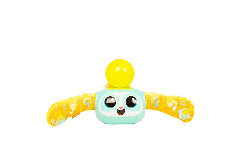 """<p>The Fisher-Price Rollin' Rovee activity toy is an interactive friend that keeps playtime exciting as your baby grows from infant to toddler to preschooler. The four interactive play modes are filled with music and fun activities to encourage little ones to get moving.</p><p><a class=""""link rapid-noclick-resp"""" href=""""https://go.redirectingat.com?id=127X1599956&url=https%3A%2F%2Fwww.argos.co.uk%2Fproduct%2F8568489&sref=https%3A%2F%2Fwww.housebeautiful.com%2Fuk%2Flifestyle%2Fshopping%2Fg33533336%2Fargos-christmas-toys-2020%2F"""" rel=""""nofollow noopener"""" target=""""_blank"""" data-ylk=""""slk:BUY NOW VIA ARGOS"""">BUY NOW VIA ARGOS</a></p>"""