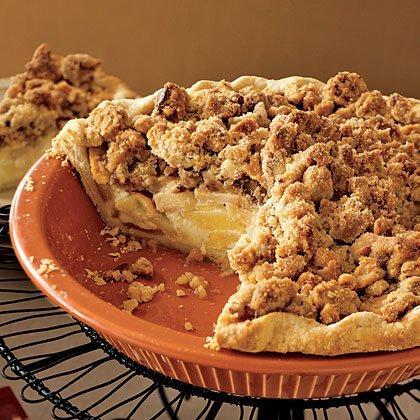 """<p>""""Great pie, everyone at the holiday party I took it to was blown away."""" -laebrown </p><p><a href=""""https://www.myrecipes.com/recipe/sour-cream-apple-pie"""" rel=""""nofollow noopener"""" target=""""_blank"""" data-ylk=""""slk:Sour Cream Apple Pie Recipe"""" class=""""link rapid-noclick-resp"""">Sour Cream Apple Pie Recipe</a></p>"""