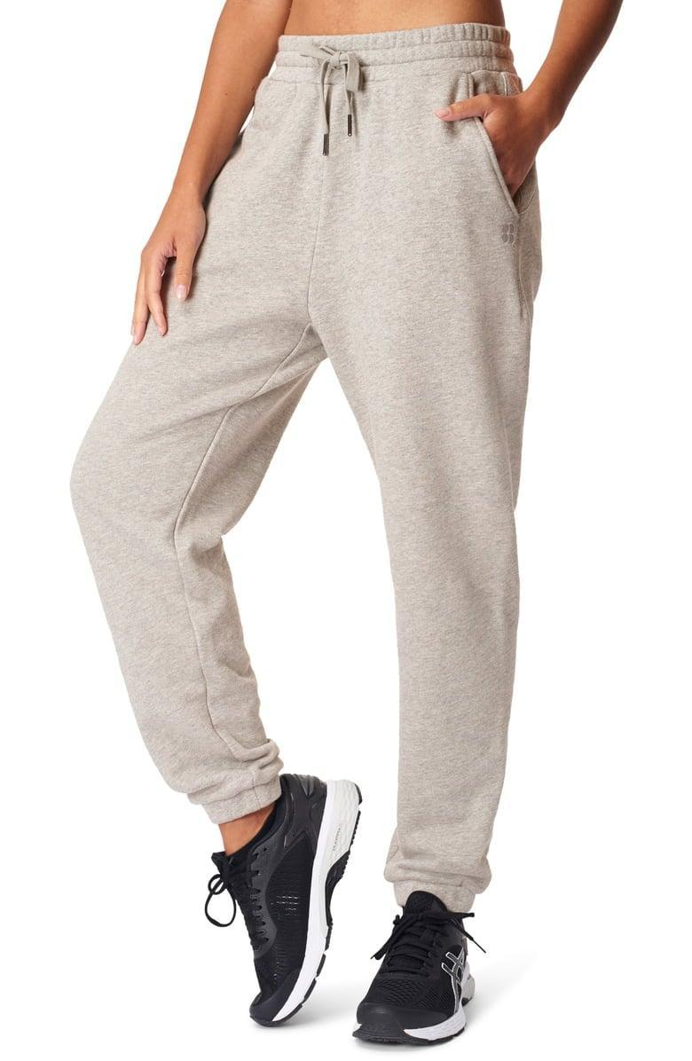 <p>These matching <span>Sweaty Betty Essential Pocket Joggers</span> ($47, originally $78) are so cute.</p>