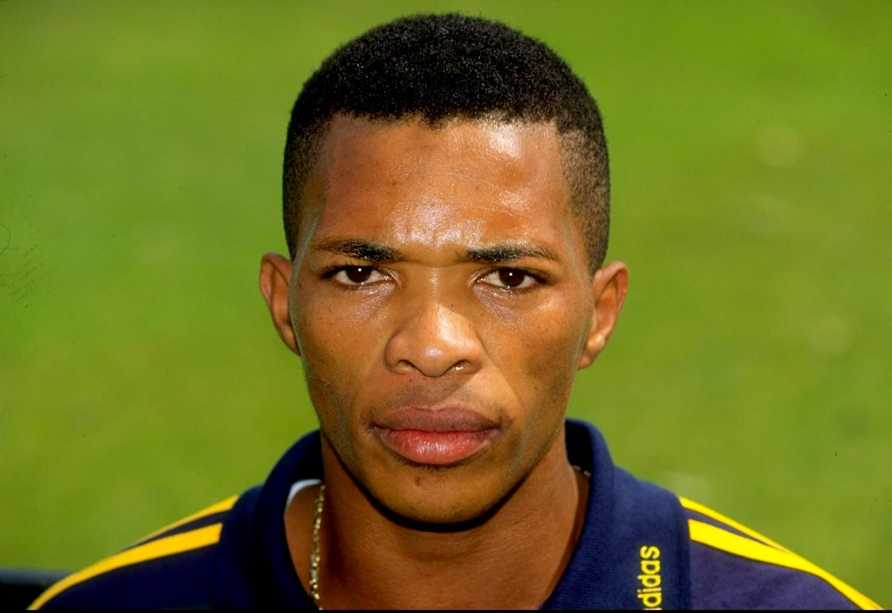 11 May 1998:  Portrait of Makhaya Ntini of South Africa on tour in England at Lords in London. \ Mandatory Credit: Mike Hewitt /Allsport