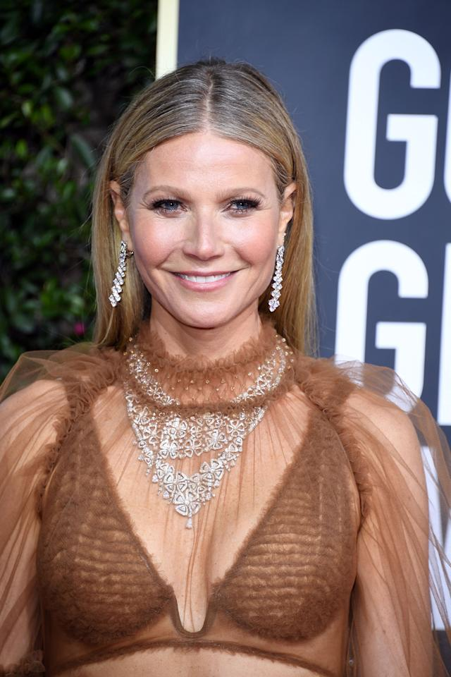 BEVERLY HILLS, CALIFORNIA - JANUARY 05: Gwyneth Paltrow  attends the 77th Annual Golden Globe Awards at The Beverly Hilton Hotel on January 05, 2020 in Beverly Hills, California. (Photo by Daniele Venturelli/WireImage)