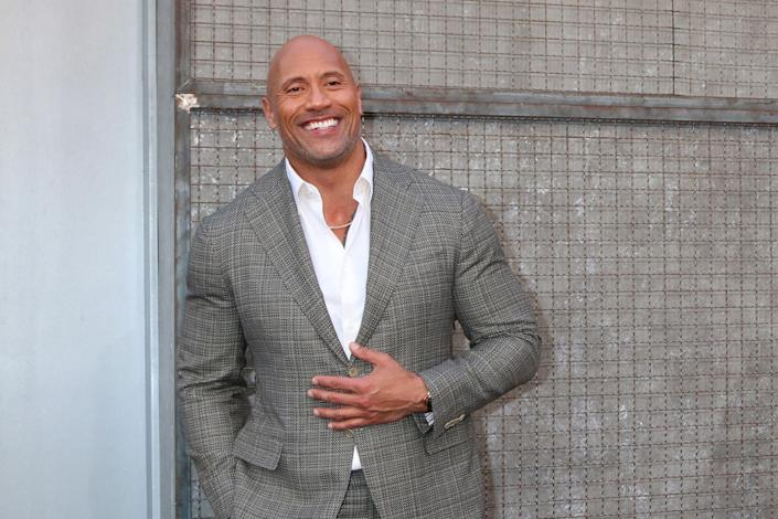 Dwayne Johnson top-earning celebs