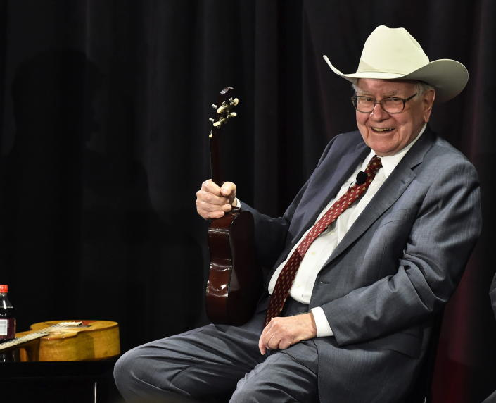 El veterano inversionista Warren Buffett. Foto: AP.