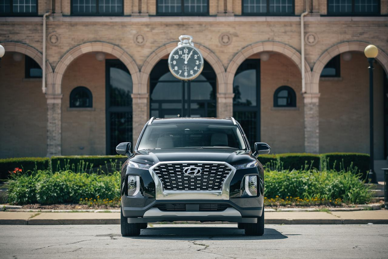 """<p>To some, <a href=""""https://www.caranddriver.com/hyundai/palisade"""" target=""""_blank"""">the Hyundai Palisade</a> may just seem like the latest me-too entry in the ever-expanding SUV marketplace. Look, another three-row crossover! Don't yawn—the conscientiously designed Palisade is a cut above most of the SUVs in its class, and after spending time with several versions of it <a href=""""https://www.caranddriver.com/reviews/a28166731/2020-hyundai-palisade-drive/"""" target=""""_blank"""">we came away impressed</a>. The upscale Hyundai benefits from attention to detail that's uncommon in this people-mover vehicle segment, as well as aspirational design. It's all too good not to talk about, so here are our 10 favorite design elements you won't find on competitors and that help elevate the Palisade from an ordinary to an exceptional SUV. Swipe through to see them all.</p>"""