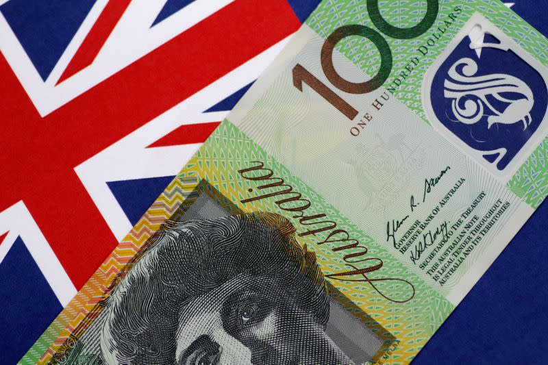 Illustration photo of an Australia Dollar note