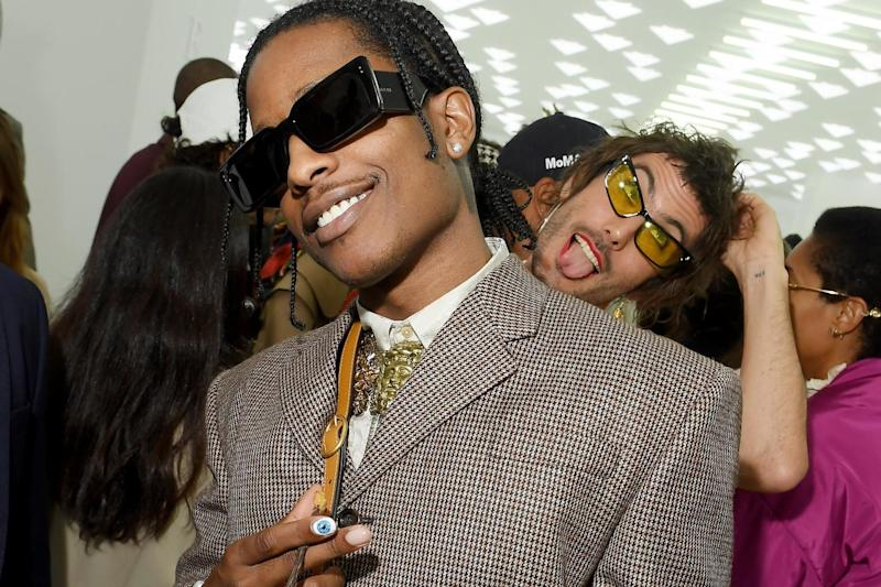 A$AP Rocky at Gucci: Getty Images
