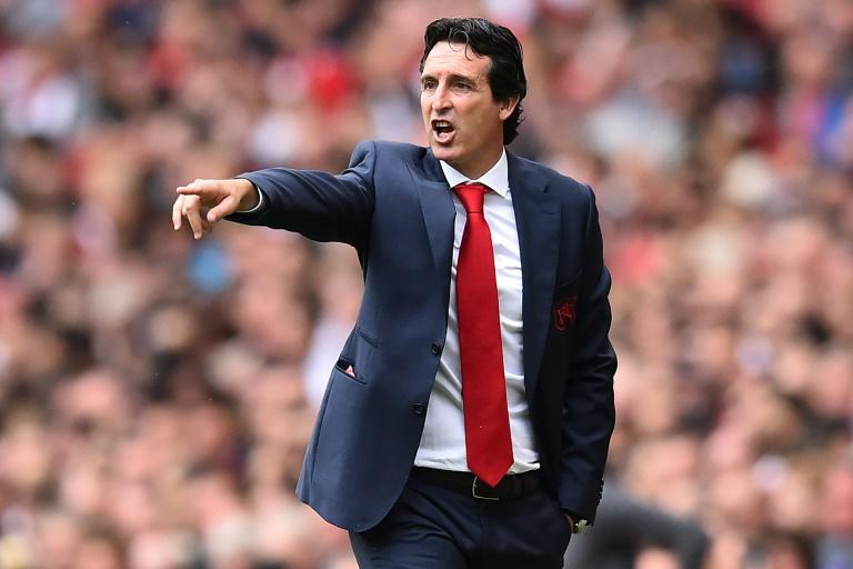 Work in progress: Unai Emery has been handed a tough start as Arsenal manager