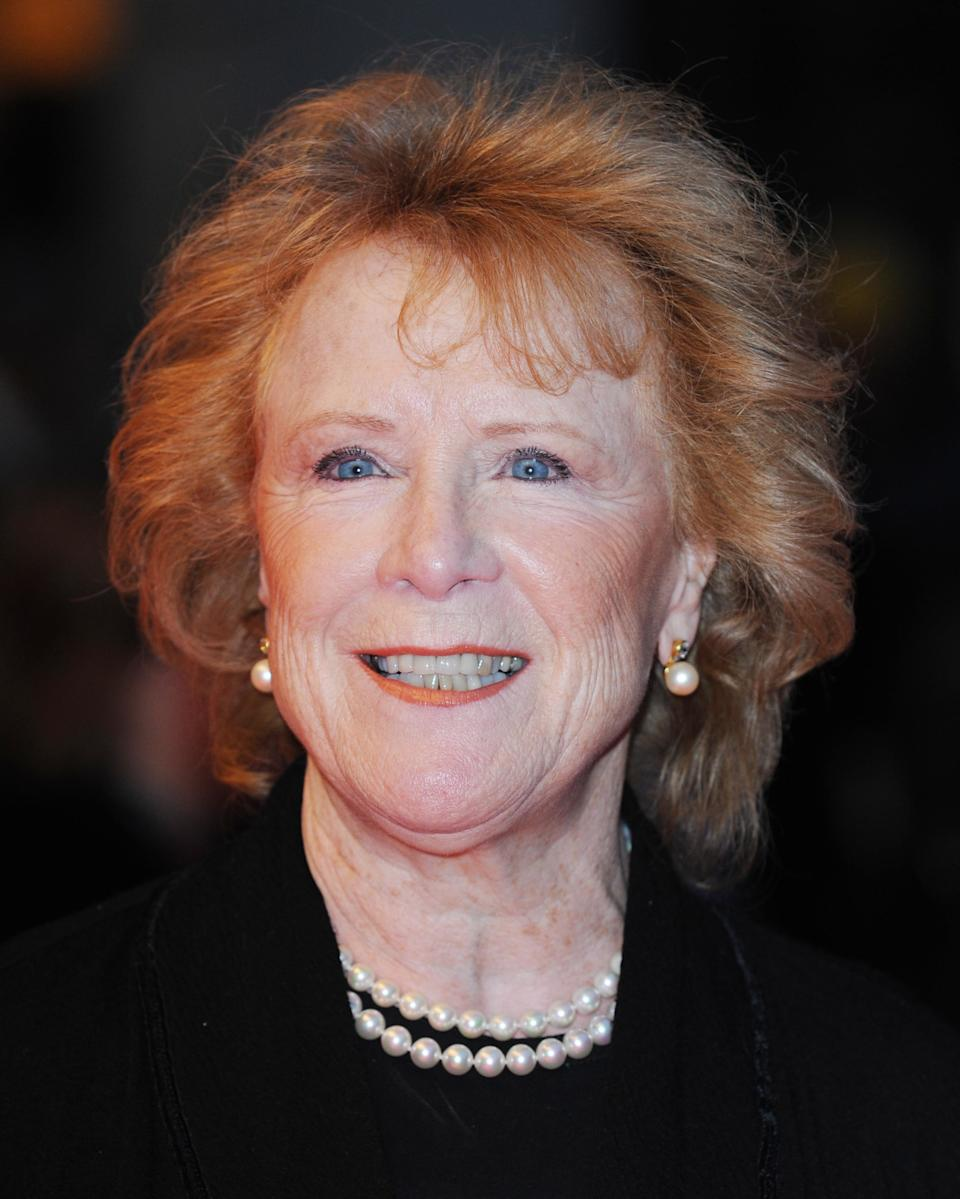 Judy Parfitt attends the premiere of