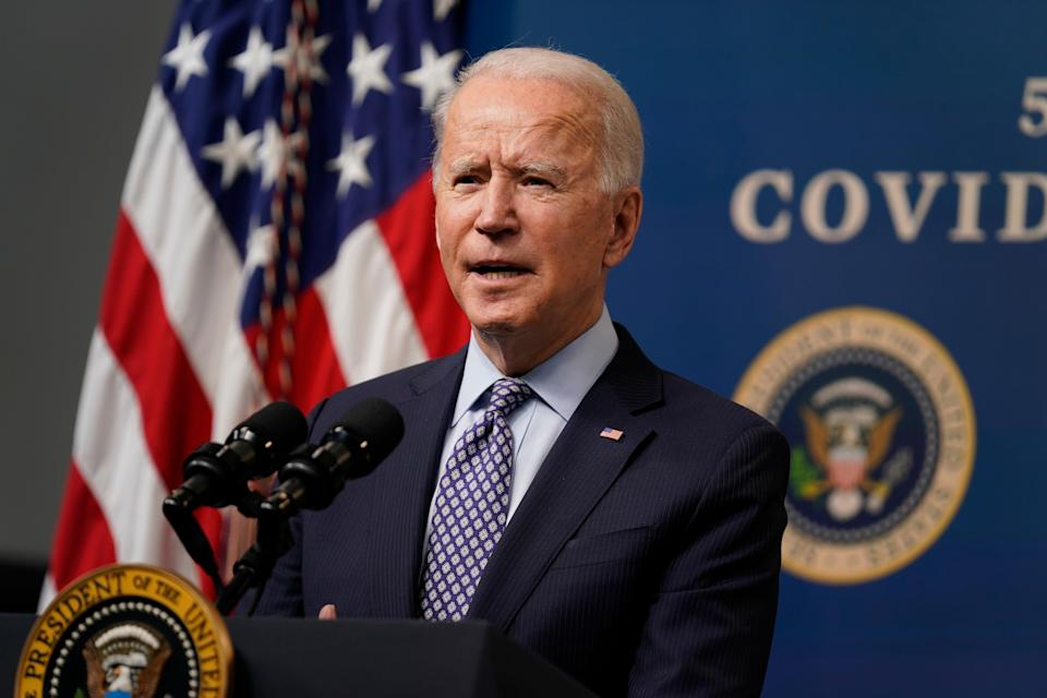<p>White House says Joe Biden is 'committed' to passing the minimum wage increase</p> (Copyright 2021 The Associated Press. All rights reserved)