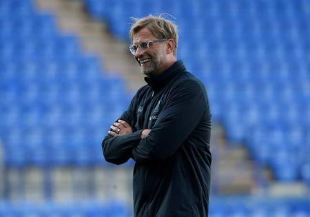 Football Soccer - Tranmere Rovers vs Liverpool - Pre Season Friendly - Liverpool, Britain - July 12, 2017   Liverpool manager Juergen Klopp before the match. Action Images via Reuters/Craig Brough