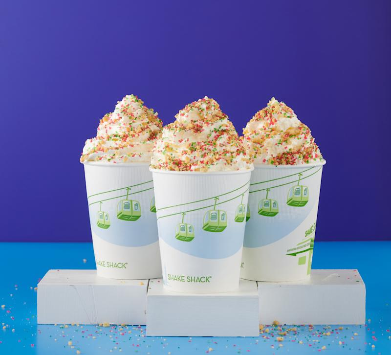 Christmas Cookie Shakes. (PHOTO: Shake Shack)