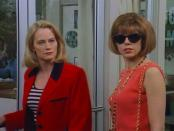 """<i>Cybill</i> stars <strong>Cybill Shepherd</strong> as Cybill Sheridan, a somewhat successful actor and mom to two daughters, who is looking for her big break. <strong>Christine Baranski </strong>co-stars as Cybill's best friend Maryann, which was a huge breakout part for her. While the show was well-received at the time and won several awards, <a href=""""https://www.imdb.com/title/tt0111932/awards?ref_=tt_awd"""" rel=""""nofollow noopener"""" target=""""_blank"""" data-ylk=""""slk:including Golden Globes and Emmys"""" class=""""link rapid-noclick-resp"""">including Golden Globes and Emmys</a>, it's still not a series that comes to mind much these days."""