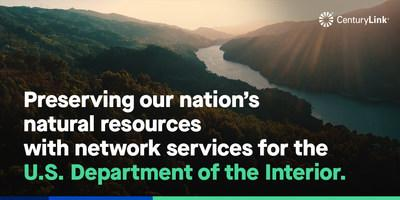 We are preserving our nation's natural resources with network services for the U.S. Department of the Interior.