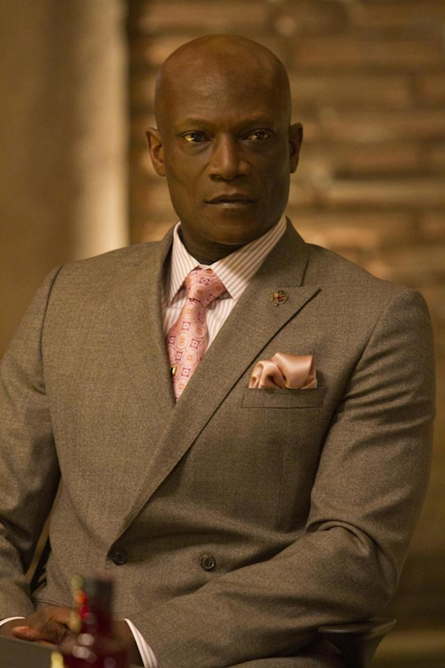 "Peter Mensah as Kibwe, <span class=""st"">Chancellor for the Authority</span>"