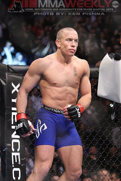 Georges St-Pierre All But Closes the Door on Anderson Silva Superfight