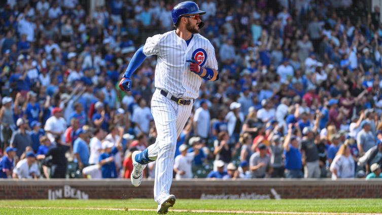 Kris Bryant named NL Player of the Week following multi-home run performance