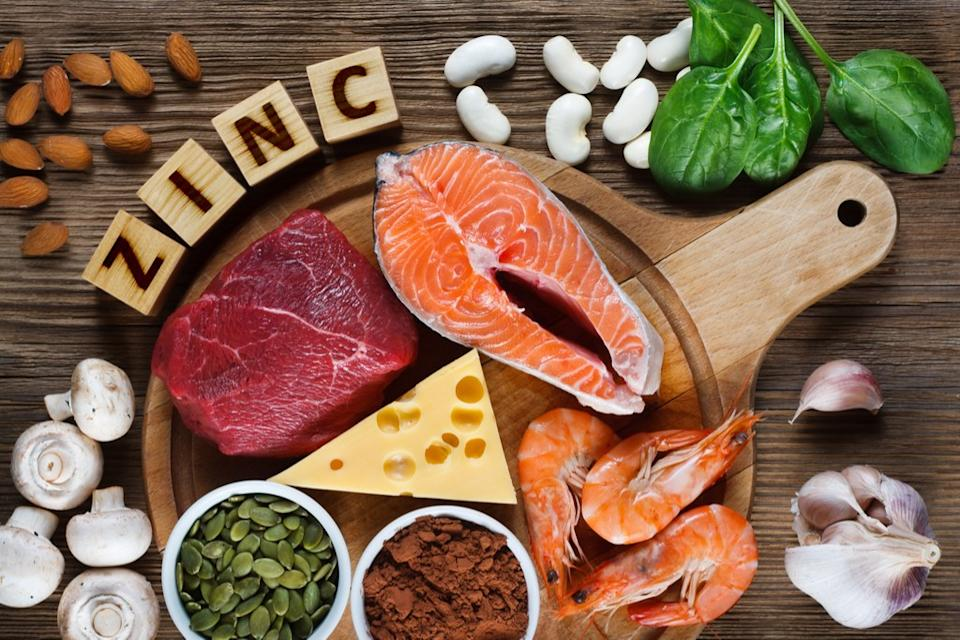 Food with Anti-aging Zinc