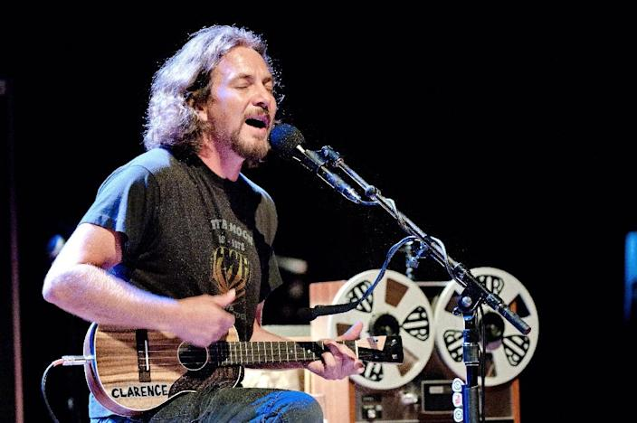 Pearl Jam emerged as one of the biggest bands in the early 1990s, bringing frontman Eddie Vedder's raw edge to classic rock (AFP Photo/Ferdy Damman)