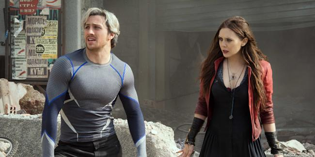 avengers age of ultron quicksilver scarlet witch