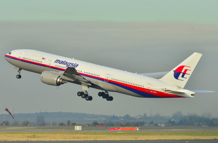 The Flight MH370 plane, similar to this one, vanished in March 2014 (Rex)