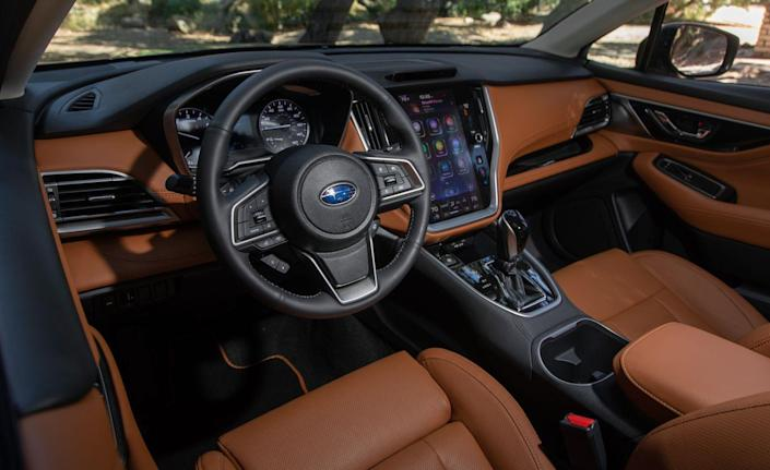 <p>Although the new Legacy is quiet, comfortable, and confident on twisty roads, it still lacks the driving verve of some of its competitors, particularly the Honda Accord.</p>