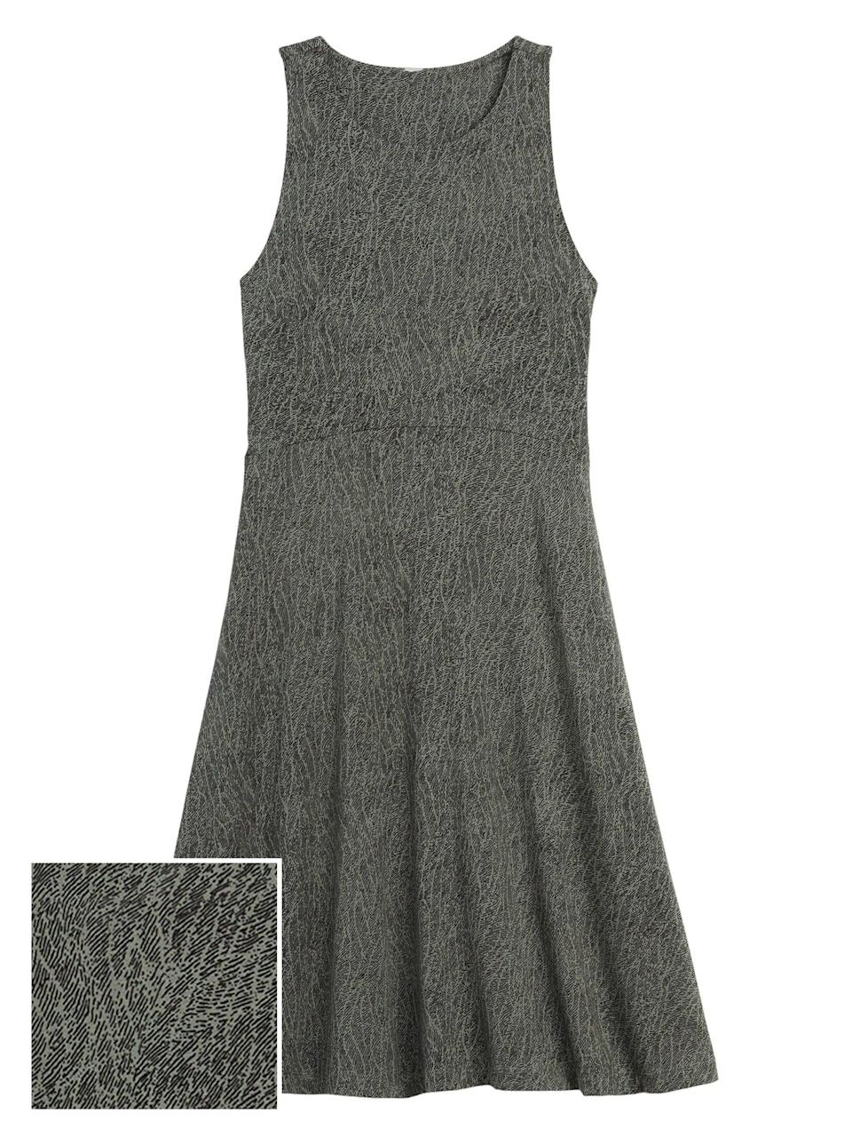 <p>This <span>Athleta Santorini Thera Printed Dress</span> ($40, originally $89) is the perfect dress for day to day and a great present for someone who loves casualwear.</p>