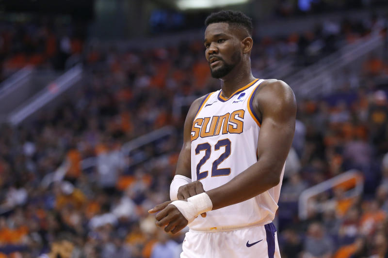 Though losing Deandre Ayton will be difficult for the Suns, Devin Booker thinks the suspension can actually bring the team together.