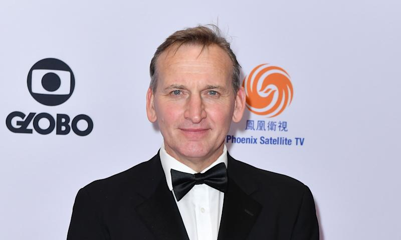 English actor Christopher Eccleston arrives for the 47th Annual International Emmy Awards at New York Hilton on November 25, 2019 in New York City. - The International Emmy Award is an award ceremony bestowed by the International Academy of Television Arts and Sciences in recognition to the best television programs initially produced and aired outside the United States. (Photo by Angela Weiss / AFP) (Photo by ANGELA WEISS/AFP via Getty Images)