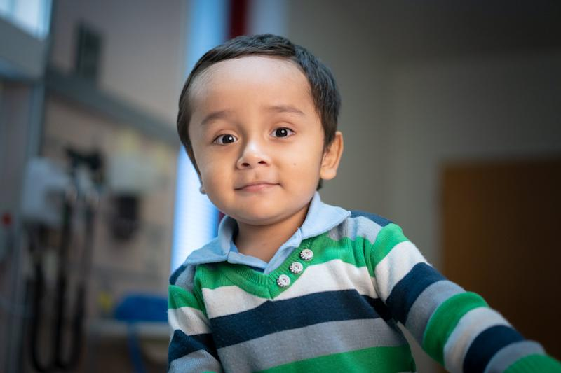 One of the participants of the clinical trial to find a cure for SCID. (Photo: St. Jude)
