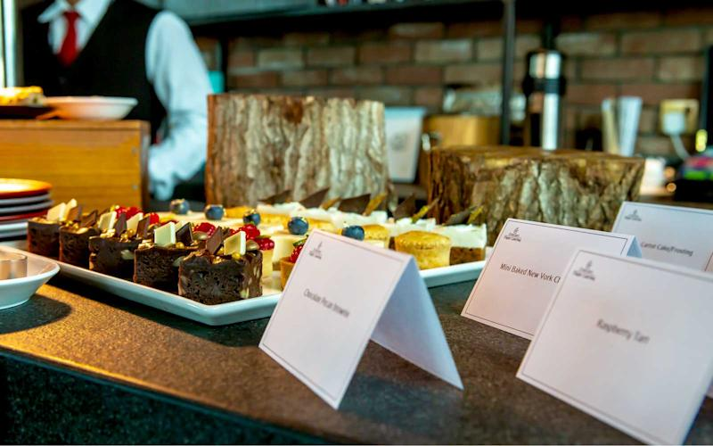 Pictured are some of the sweet selections Emirates offers. | Talia Avakian