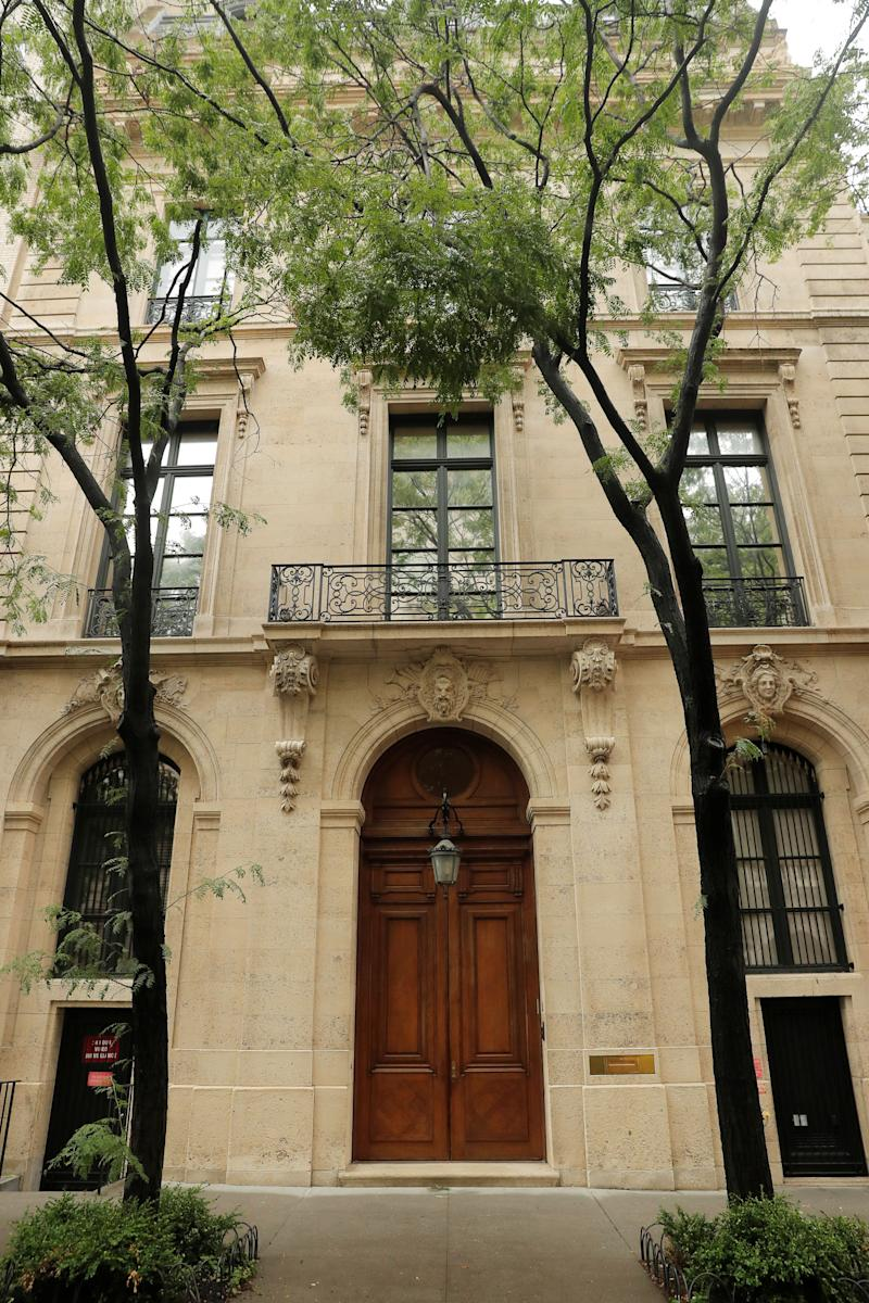 Maria Farmer, who has accused Jeffrey Epstein of sexually assaulting her, said the late billionaire had a video surveillance room at his Manhattan home (pictured) that would monitor his bedrooms and bathrooms. (Photo: Lucas Jackson/Reuters)