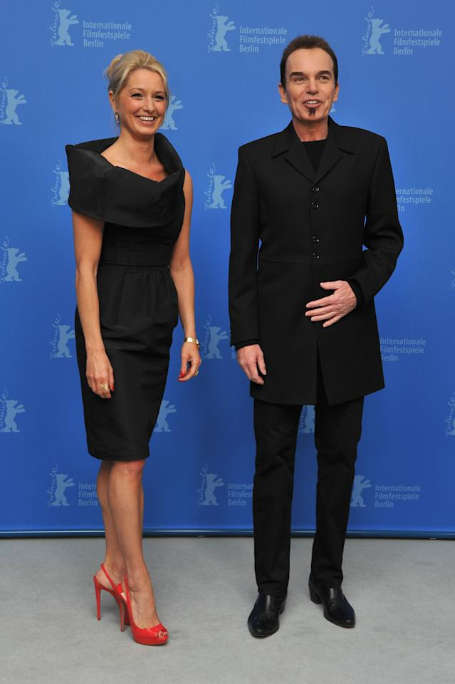 "BERLIN, GERMANY - FEBRUARY 13:  Director Billy Bob Thornton and actress Katherine LaNasa attend the ""Jayne Mansfield's Car""  Photocall during day five of the 62nd Berlin International Film Festival at the Grand Hyatt on February 13, 2012 in Berlin, Germany.  (Photo by Pascal Le Segretain/Getty Images)"