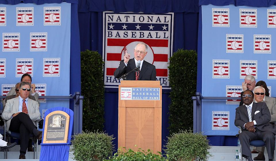 Will anyone be inducted into the Baseball Hall of Fame in 2021? Maybe not. (Photo by Jim McIsaac/Getty Images)