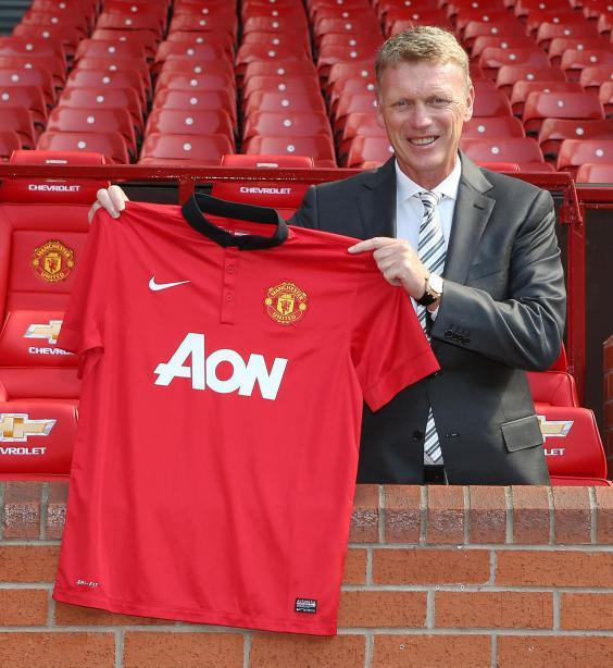 Moyes' time at Manchester United ended badly (Manchester United via Getty Images)