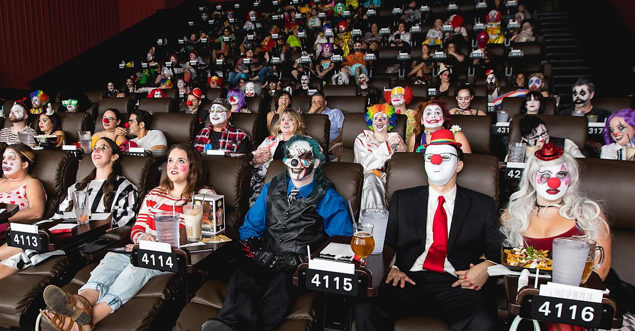 <p>The Alamo Drafthouse in Austin, Texas, hosted an all-clown screening of <em>It</em>, the blockbuster adaptation of Stephen King's 1986 best-selling novel (which was previously made into a classic TV miniseries in 1990).</p>