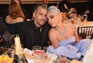 """A rep for Gaga confirmed on February 19 that she ended her engagement to talent agent Christian Carino. """"It just didn't work out. Relationships sometimes end,"""" the representative told <em><a href=""""https://people.com/music/lady-gaga-christian-carino-split/"""" rel=""""nofollow noopener"""" target=""""_blank"""" data-ylk=""""slk:People"""" class=""""link rapid-noclick-resp"""">People</a></em> magazine. """"There's no long, dramatic story."""""""