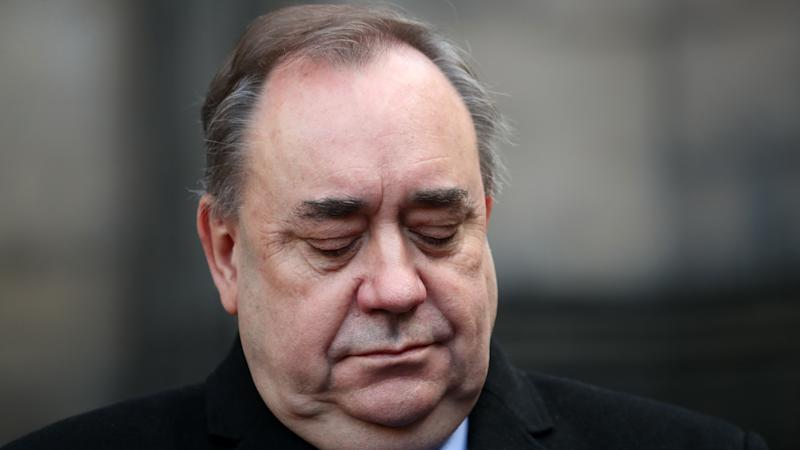 Alex Salmond in court after being arrested and charged by police