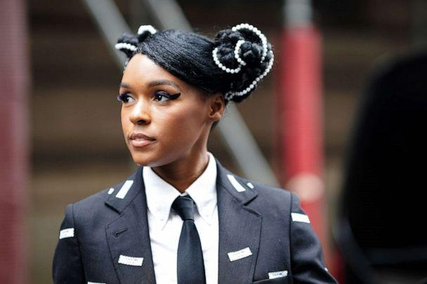 PHOTO: Janelle Monae, outside Thom Browne, during Paris Fashion Week Womenswear Fall/Winter 2019/2020, on March 03, 2019 in Paris, France. (Edward Berthelot/Getty Images, FILE)