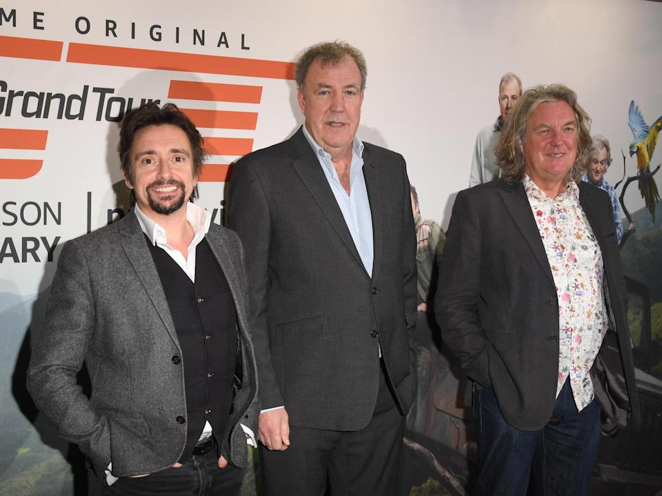 'The Grand Tour' stars Richard Hammond, Jeremy Clarkson and James May (Getty Images)