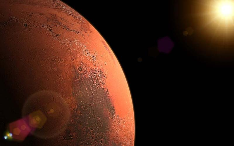 Sunrise for the Red Planet - GETTY
