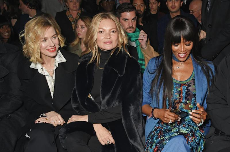 Naomi Watts, Kate Moss and Naomi Campbell (Dave Benett)