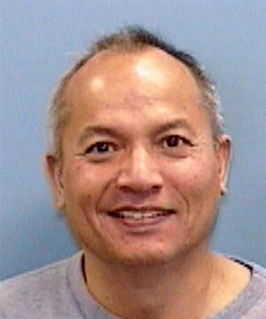 Government contractor Frank Janssen is seen in an undated photo released by the police in Wake Forest, North Carolina