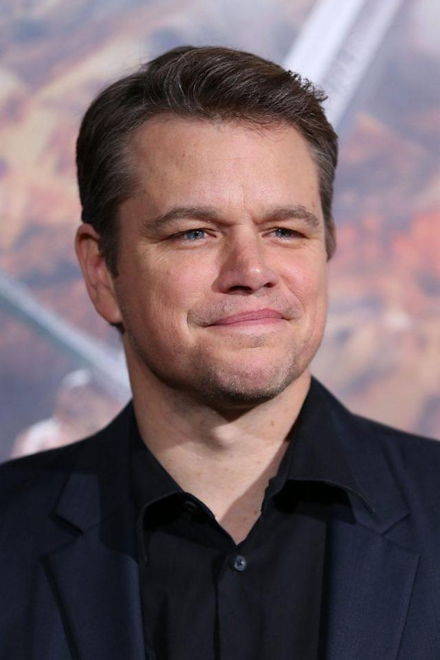 Matt Damon (Photo: Getty Images)