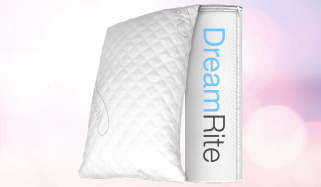Reviewers can't get enough of this pillow. (Photo: Amazon)