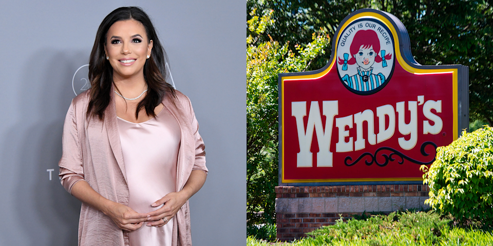 """<p>In her pre–<em>Desperate Housewives </em>days, Eva worked at Wendy's, and later shared her cheeseburger secrets on <em>Rachael Ray</em>. """"What we learned at Wendy's was mayonnaise goes on the bun first, to seal the bun, so the bun stays nice,"""" she <a href=""""http://people.com/food/eva-longoria-wendys-burger-recipe-rachael-ray/"""" rel=""""nofollow noopener"""" target=""""_blank"""" data-ylk=""""slk:said"""" class=""""link rapid-noclick-resp"""">said</a>. """"Then you put the ketchup. And [then] mustard goes on the meat, because it brings out the flavor of meat.""""</p>"""