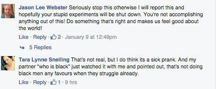 Facebook users are disgusted with the violent act. Photo: Facebook