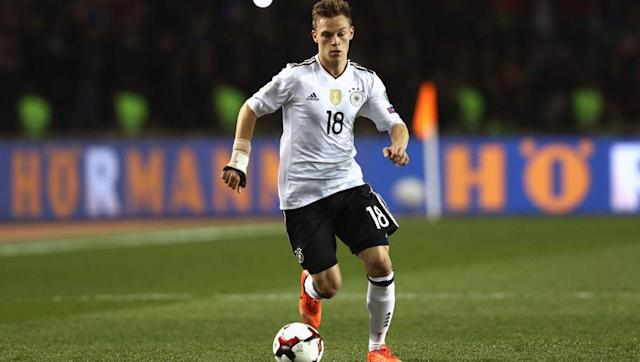 <p>While only rated 78, Joshua Kimmich is not only a great player to start with but could be a good addition while you build up those coins. </p> <br><p>With 79 passing, 83 being short, he brings the quality distribution you'd expect from a quality young Bayern Munich player and is ideal for the slower build up FIFA player. </p> <br><p>At around 800 coins he's a solid buy. </p>