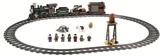 The Lone Ranger Constitution Train Chase