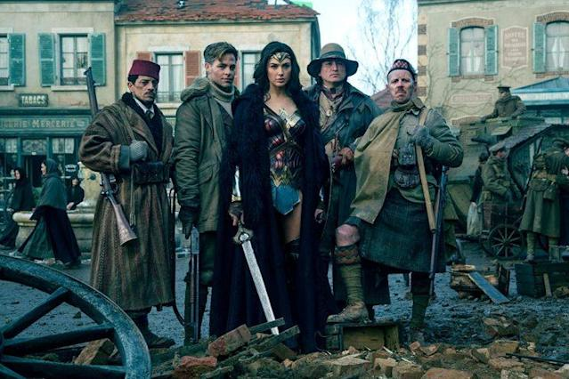 Wonder Woman and team in 'Wonder Woman' (WB)