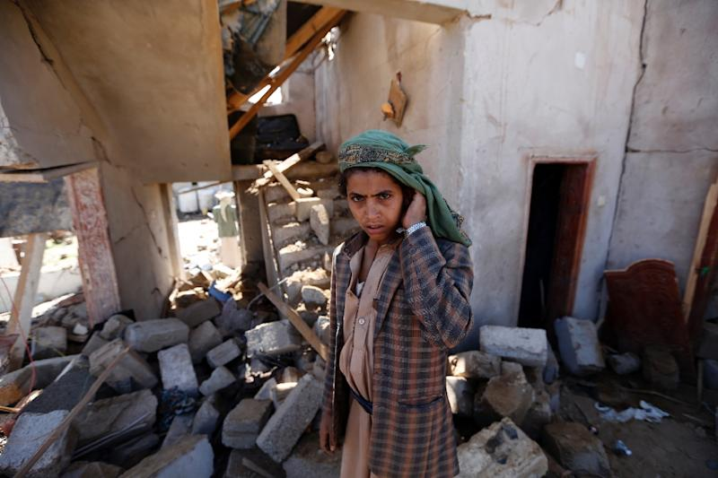 The UN says more than three million people have been displaced by the conflict in Yemen (AFP Photo/Mohammed HUWAIS)